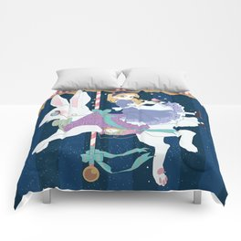 Carousel: World of My Own Comforters