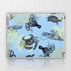 Vintage Sea Creatures Laptop & iPad Skin
