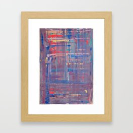 Abstract 17 Framed Art Print
