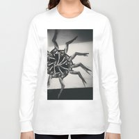 legs Long Sleeve T-shirts featuring legs on legs by victoriajdesign