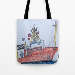 Ship Ahoy! Tote Bag