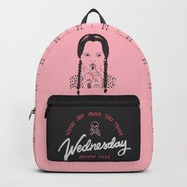 Wednesday Addams Eyes Backpack