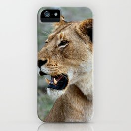 Cat by joel herzog iPhone Case
