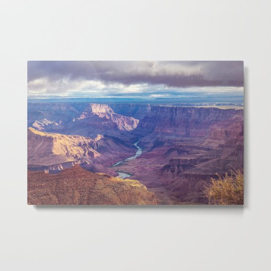 Grand Canyon and the Colorado River Metal Print