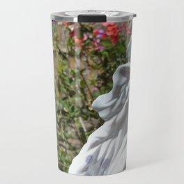Lady Among the Flowers Travel Mug