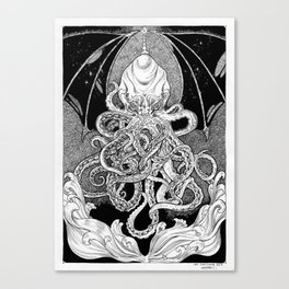 The Sleeper of R'lyeh Canvas Print
