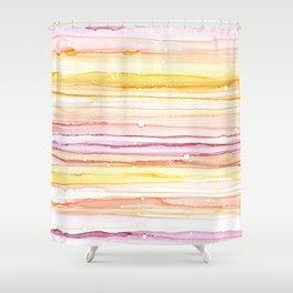 Cotton Candy Sunrise Shower Curtain