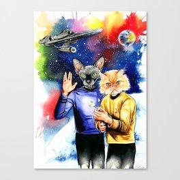Star Trek sphynx Canvas Print