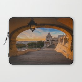Fisherman's Bastion in Budapest, Hungary Laptop Sleeve