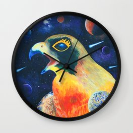 Stellar Splendor Wall Clock