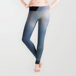 blue jelly Leggings