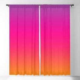 Sunset Ombre Gradient Colors Blackout Curtain