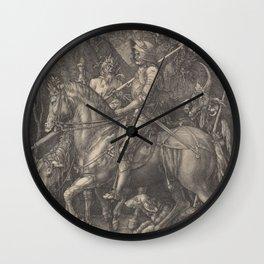 ADAM and EVE - Albrecht Durer  1504 Wall Clock