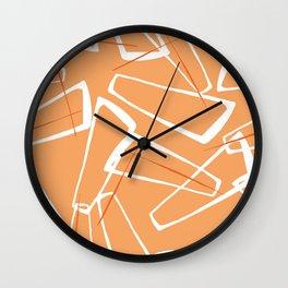 Fifties Modern 9 Wall Clock