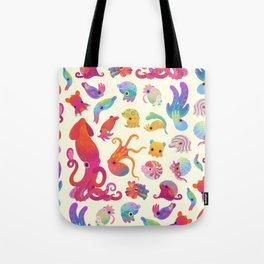 Cephalopod - pastel Tote Bag