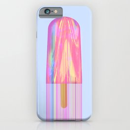 Glitched Popsicle iPhone Case