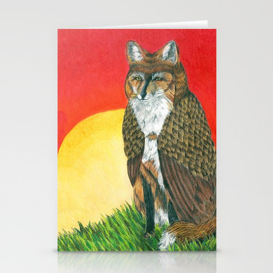 Shape Shifter Stationery Cards