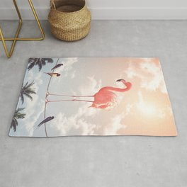 FLAMINGO & FRIENDS Rug