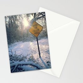 Fallen trees Stationery Cards