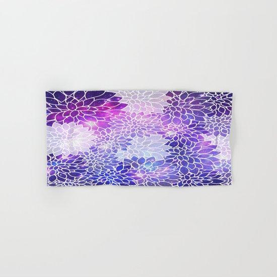 Space Dahlias  Hand & Bath Towel