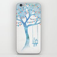 kids iPhone & iPod Skins featuring The Start of Something by David Fleck