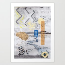 Shed light on the water crises Art Print