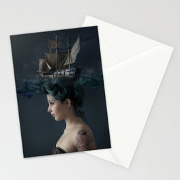 Sailing - Blue Stationery Cards