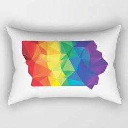 Geometric Pride Iowa Rectangular Pillow
