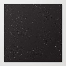 Night Sky//One Canvas Print