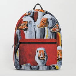Gaggle of Geese Backpack