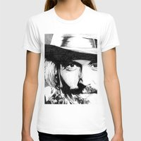 johnny depp T-shirts featuring Johnny Depp by DeMoose_Art