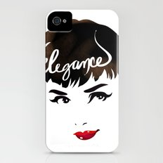 Bombshell Series: Elegance - Audrey Hepburn iPhone (4, 4s) Slim Case