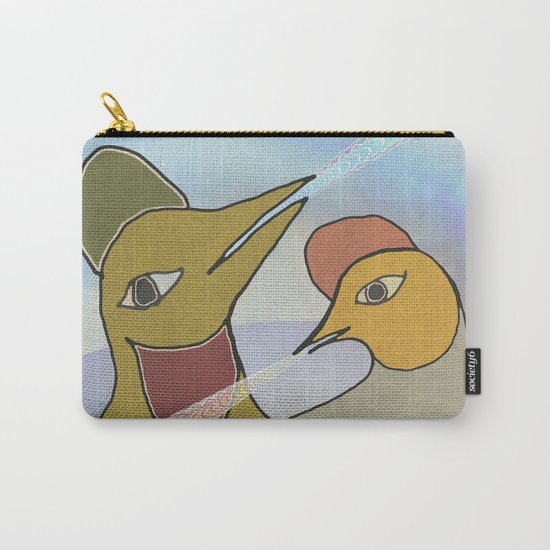 Morning Song Carry-All Pouch
