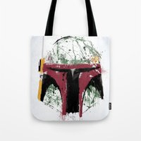 boba Tote Bags featuring Boba by Purple Cactus