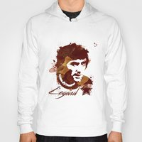 coffe Hoodies featuring George Best - coffe stained by Colo Design