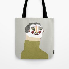 Man Illustration. Tote Bag