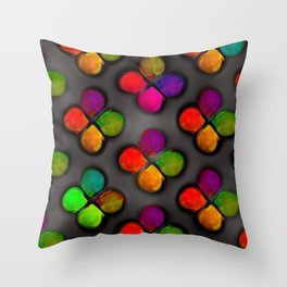 Colorandblack serie 301 Throw Pillow