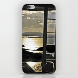 The Haunted Sunset iPhone Skin