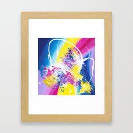 The Brightside Framed Art Print