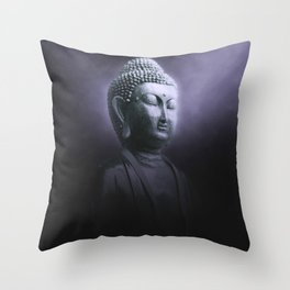 Meditation Buddha Throw Pillow