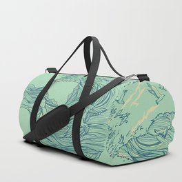Ocean Breath Duffle Bag