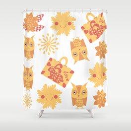 Travel pattern 4bg Shower Curtain