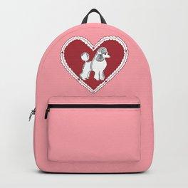 Poodle Love Backpack