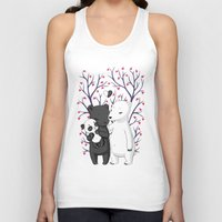 family Tank Tops featuring Bear Family by Freeminds