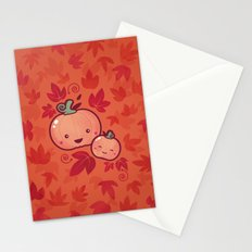 Fall Frolic (in orange) Stationery Cards