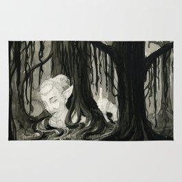 Lost in the Elfin Woods Rug