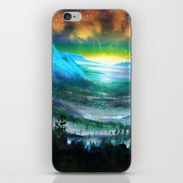 Solar Winds iPhone Skin