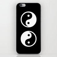 yin yang iPhone & iPod Skins featuring Yin Yang by Beautiful Homes