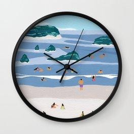 Islands Horizons Wall Clock