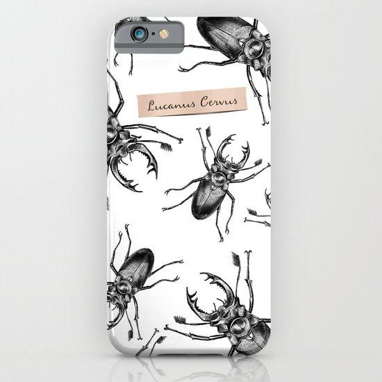 Stag Beetle - Lucanus Cervus iPhone & iPod Case